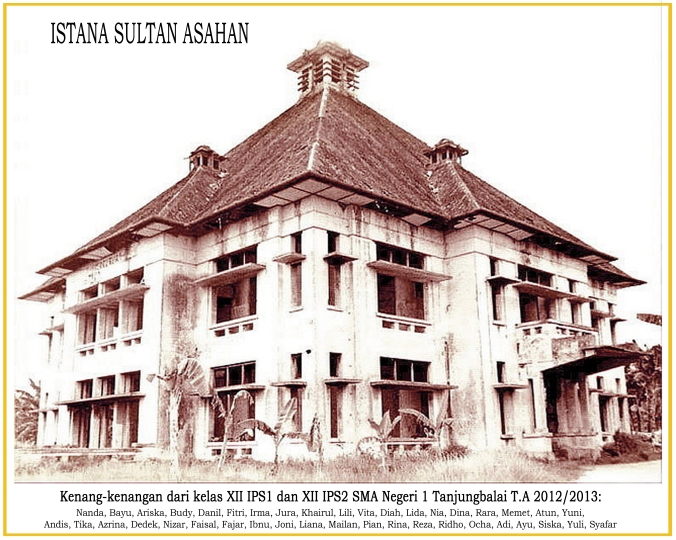 Foto Istana Sultan Asahan